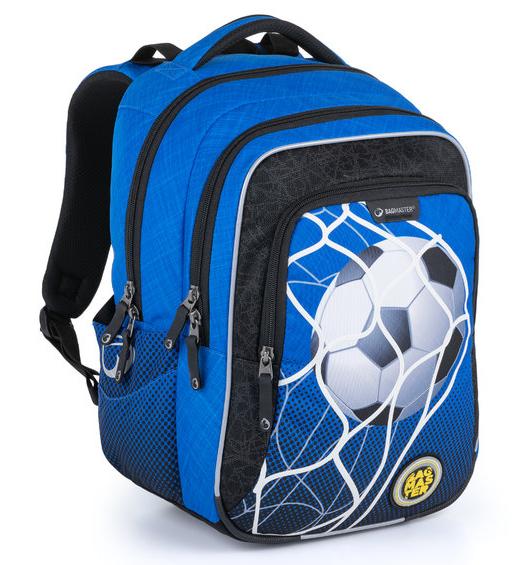 Školní batoh Bagmaster - LUMI 21 B BLUE/BLACK