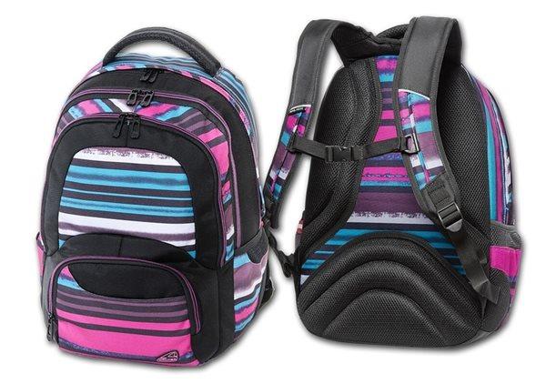 Studentský batoh Walker - Switch Stripes
