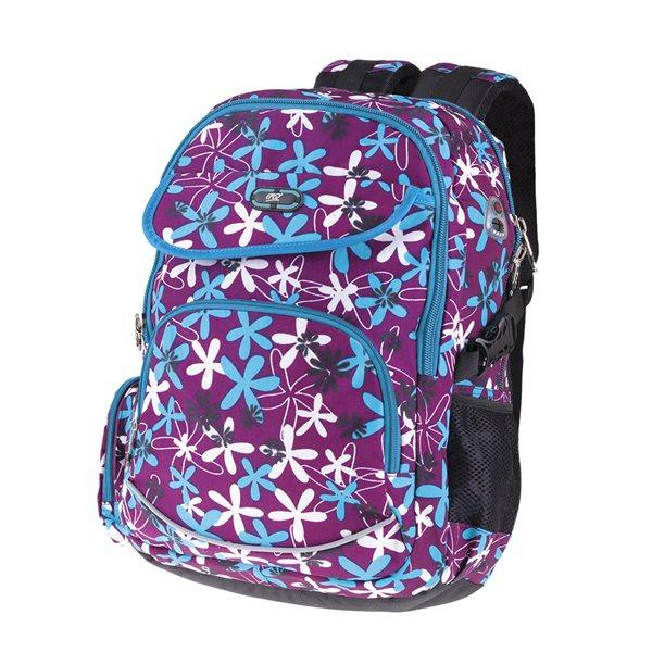 Studentský batoh Easy - Kytky