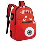 Dětský batoh neoprenový - autíčko červené