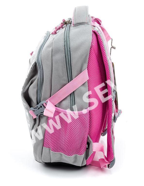 a05dcdd3ac8 Studentský batoh dvoukomorový Easy - šedý s jednorožci · 58144616320.1.