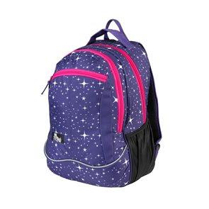 Školní batoh dvoukomorový Easy - Hvězdy