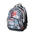 Školní batoh dvoukomorový Easy - Welcome to NY