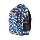 Studentský batoh tříkomorový Easy - Kostky