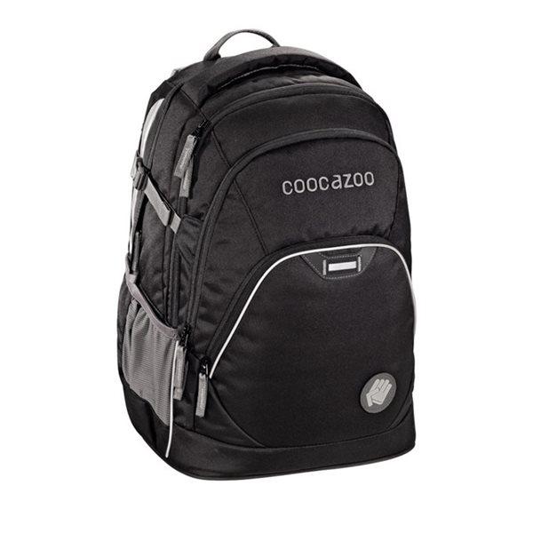 Studentský batoh Coocazoo - EvverClevver - Beautiful Black, Doprava zdarma