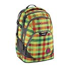 Studentský batoh Coocazoo - EvverClevver - Hip To Be Square Green