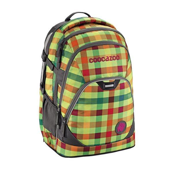 Studentský batoh Coocazoo - EvverClevver - Hip To Be Square Green, Doprava zdarma