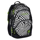 Školní batoh Coocazoo - EvverClevver2 - Black Track reflexní