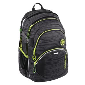 Školní batoh CoocaZoo - JobJobber2 - Black Knit