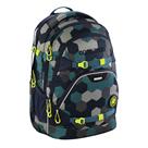 Školní batoh Coocazoo - ScaleRale - Blue Geometric Melange