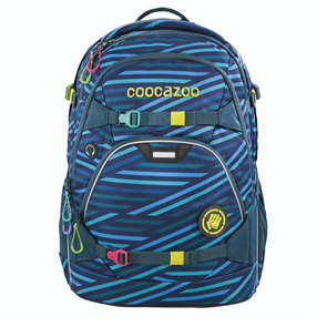Školní batoh Coocazoo - ScaleRale - Zebra Stripe Blue