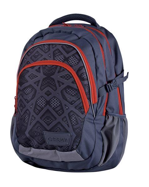 Školní batoh Stil teen - Carbon