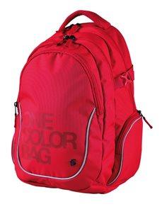 Studentský batoh Stil teen - One Colour červený
