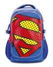 BAAGL Školní batoh s pončem - Superman – POP