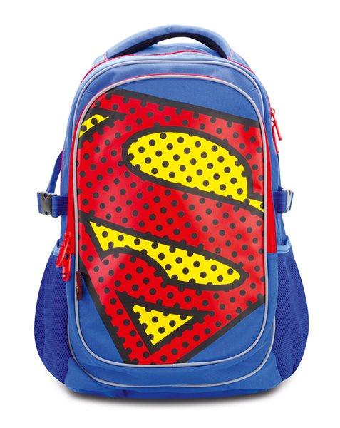 Školní batoh s pončem - Superman – POP, Doprava zdarma