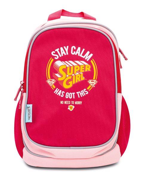 Předškolní baťoh Supergirl – STAY CALM