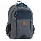 Školní batoh Ars Una AU02 - šedomodrý
