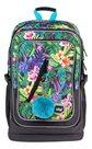 BAAGL Školní batoh Cubic - Tropical