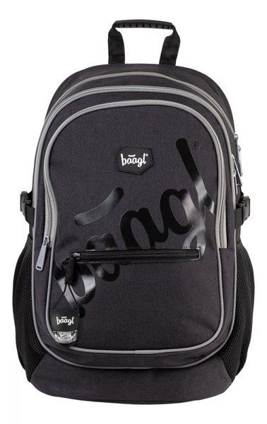 BAAGL Školní batoh - Logo black