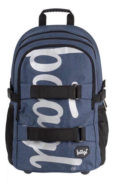 BAAGL Školní batoh Skate - Blue