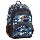 Školní batoh Ars Una AU18 - modrý maskáč