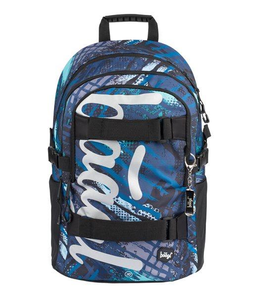 BAAGL Školní batoh Skate - Struktury