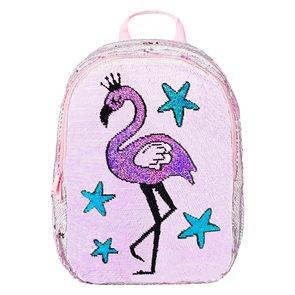 BAAGL Školní batoh Fun - Plameňák