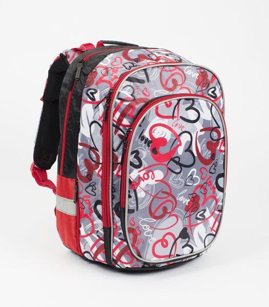Anatomický batoh ERGO junior - Hearts