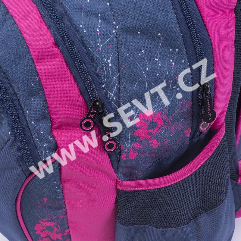 bc530a7609 Karton PP Školní batoh OXY Fashion - Pink Flowers. Karton PP Školn  237  batoh  OXY Fashion - Pink Flowers. Karton PP Školní batoh OXY Fashion - Pink  Flowers