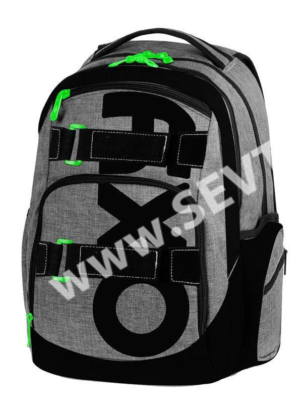 47523fc4b24 Studentský batoh OXY STYLE - Grey - SEVT.cz