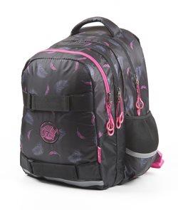 Školní batoh OXY ONE - Peříčka