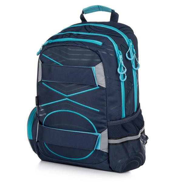 Studentský batoh OXY SPORT Pastel Line - Blue