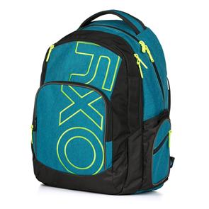 Studentský batoh OXY STYLE - Blue / Green