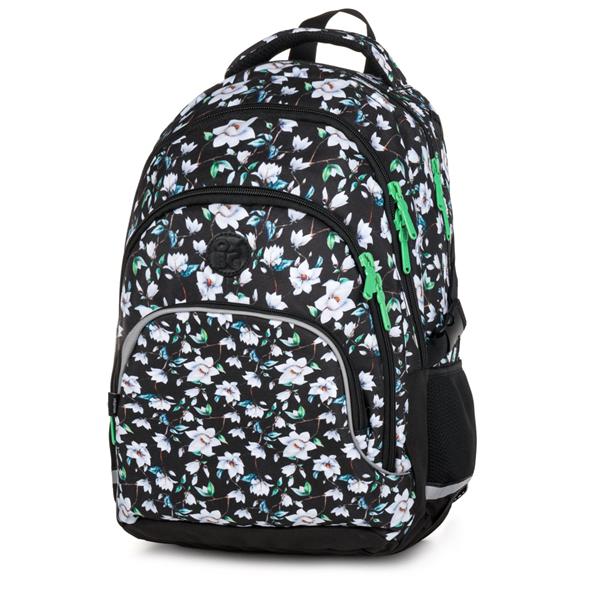 Školní batoh OXY SCOOLER - Flowers