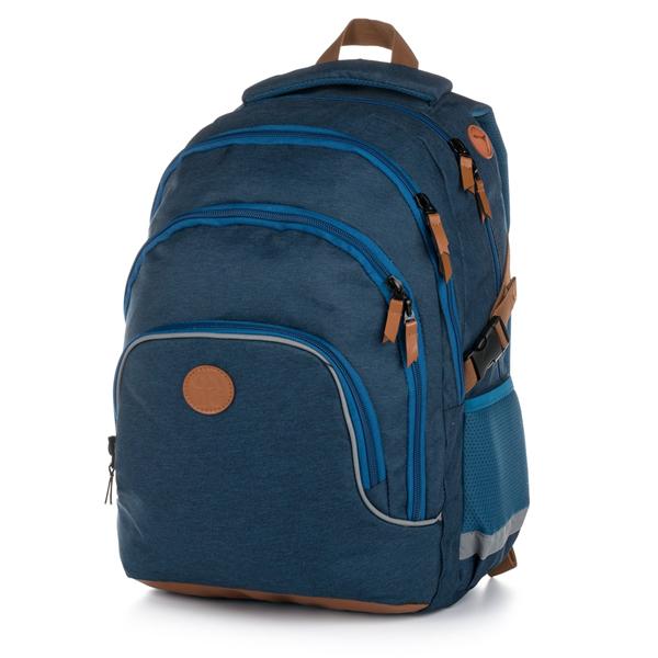 Školní batoh OXY SCOOLER - Blue