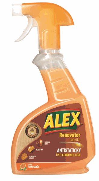Alex renovátor nábytku – proti prachu