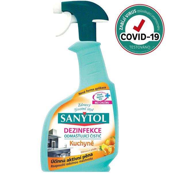 Sanytol čistič silně odmašťující - kuchyně