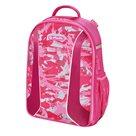 Školní batoh Herlitz be.bag airgo - Kamufláž růžová