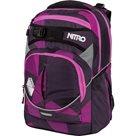 Školní batoh Nitro SUPERHERO - Fragments Purple