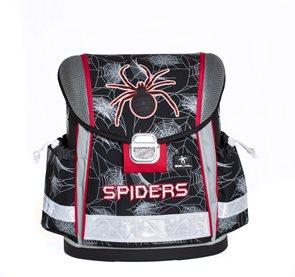 Školní aktovka Belmil - Spiders Black