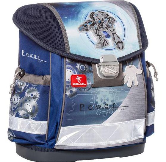 Školní aktovka Belmil - Power Galaxy
