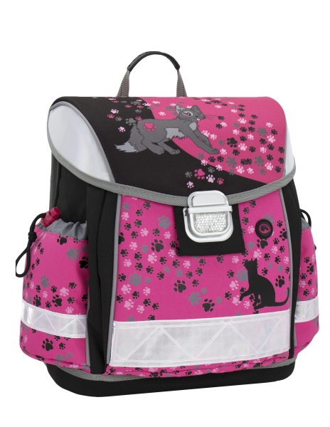 Školní aktovka Bagmaster - LIM 0115 B - Pink
