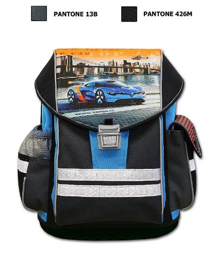 Školní aktovka Emipo ERGO ONE - Top Car