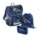 Školní aktovka Hama - Baggymax Fabby - Fotbal - 3 dílný set