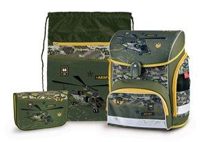Školní set Stil - Army (aktovka + penál + sáček)