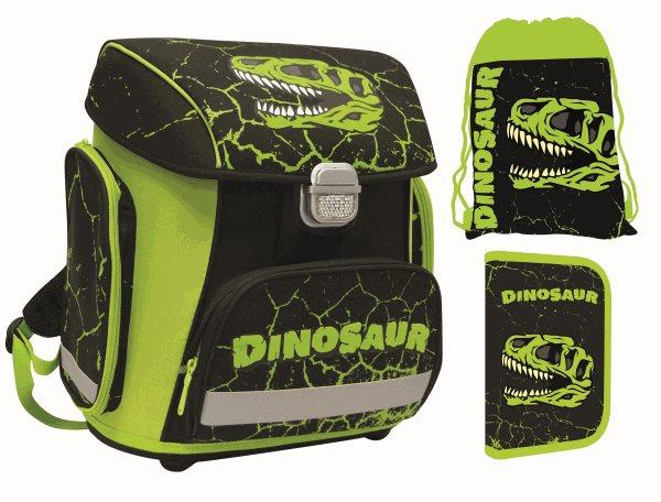 Školní set PREMIUM Dinosaurus (aktovka + penál + sáček), Doprava zdarma