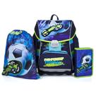 Školní set OXY PREMIUM FLEXI - Fotbal (aktovka + penál + sáček)