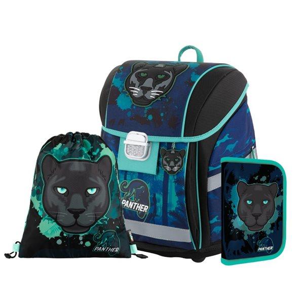 Školní set OXY PREMIUM LIGHT - Panter 2020 (aktovka + penál + sáček)
