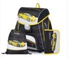 Školní set OXY PREMIUM - Racing / Auto 2021 (aktovka + penál + sáček)