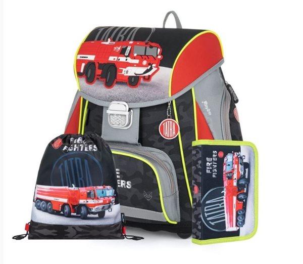 Školní set OXY PREMIUM - Tatra - hasiči (aktovka + penál + sáček)